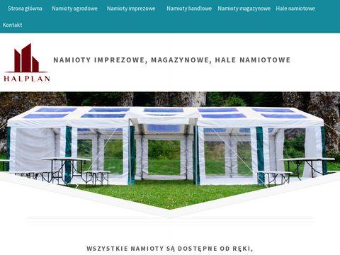 Halplan.pl pawilony handlowe