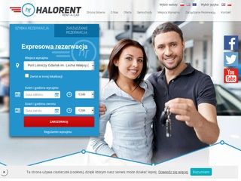 Halorent - wypożyczalnia samochodów