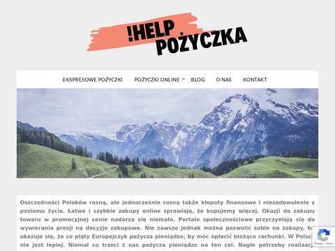 Helppozyczka.pl umowa pożyczki