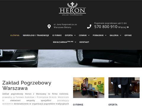 Heronpogrzeby.pl zakład