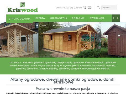 Kriswood.pl drewniane domki letniskowe
