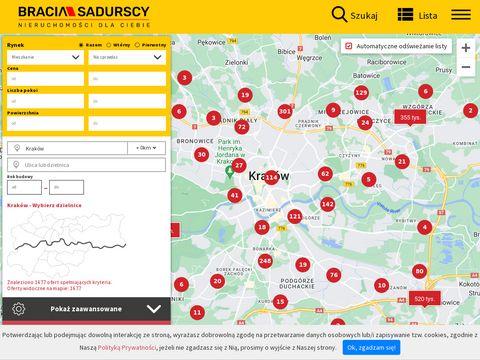 Krakow.sadurscy.pl mieszkania sprzedaż i wynajem