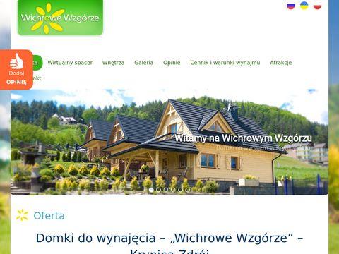 Krynica-domki.net - Wichrowe Wzgórza