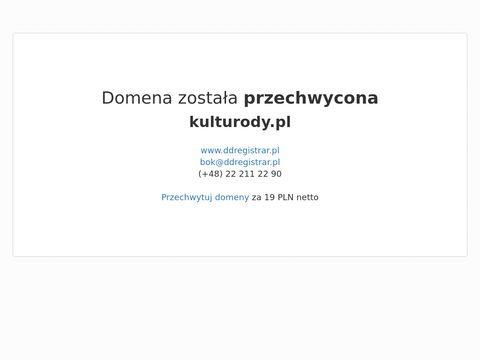 Kulturody.pl - portal o zdrowiu i urodzie