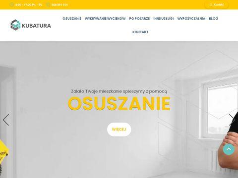 Kubatura-lab.pl usuwanie wilgoci ze ścian