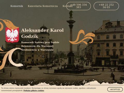Komornikgodzik.pl Warszawa Śródmieście