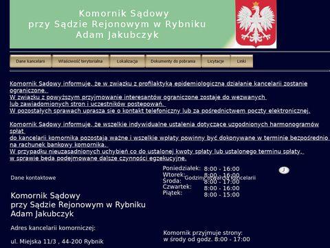 Komornik Sądowy - Michał Żołna