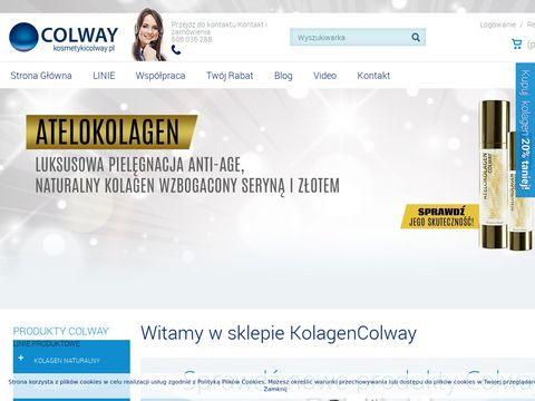 Kosmetykicolway.pl odbudowa pokładów kolagenu w organizmie