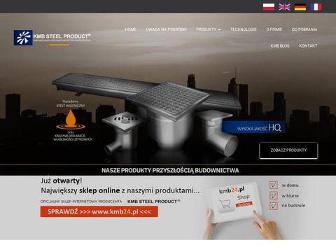 KMB Steel Product - wpusty podłogowe