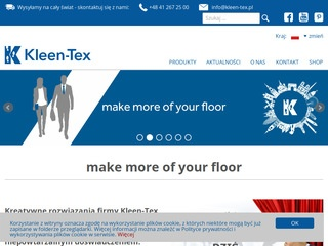 Kleen Tex Suchedniów chodniki dywanowe