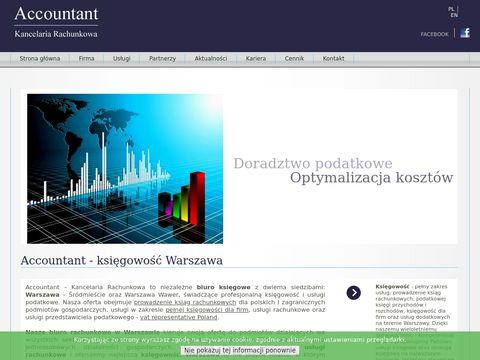 Kancelaria-accountant.pl biuro rachunkowe Warszawa