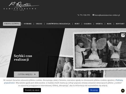 Kamieniarstwo-richter.pl pomniki na cmentarz