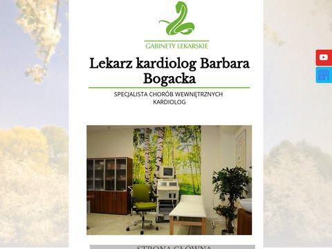 Barbara Bogacka kardiolodzy Szczecin