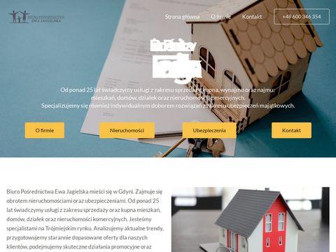 Ewa Jagielska biuro nieruchomości Gdynia