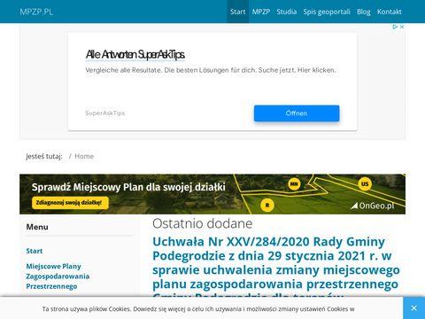 MPZP24.pl - plany zagospodarowania