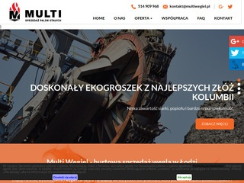 Multi węgiel sprzedaż Łódź