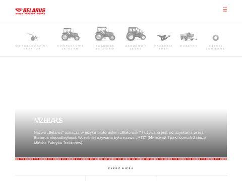 Mtzbelarus.pl - traktory z Białorusi