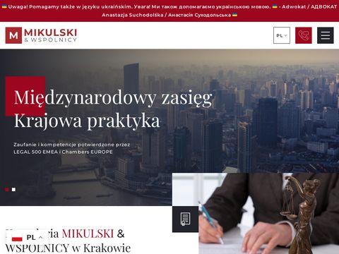 Mikulski.krakow.pl podatek od darowizn