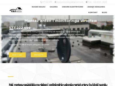Montazantenywroclaw.pl telewizora