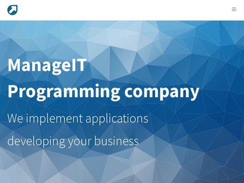 ManageIT programy na zamówienie