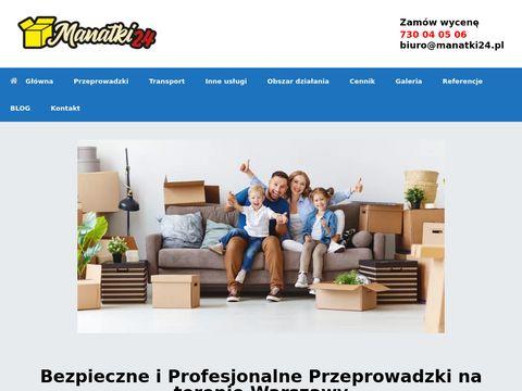 Manatki24.pl profesjonalne przeprowadzki