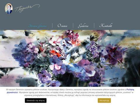 Malarstwo-tatianamajewska.pl artysta