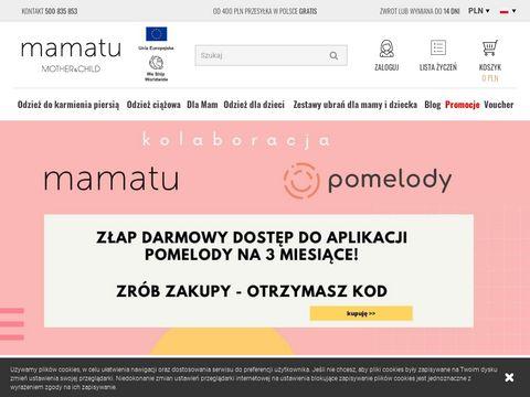 Mamatu.pl ubrania dla dzieci