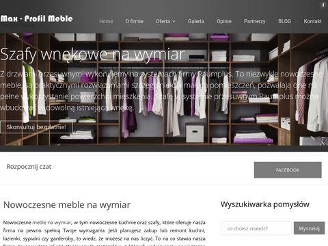 Maxmeble.com - kuchnie na wymiar