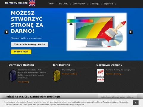 Ma7.eu tani hosting