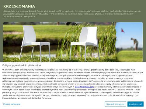 KRZESŁOMANIA - Blog o krzesłach