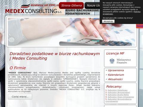 Medex doradztwo podatkowe