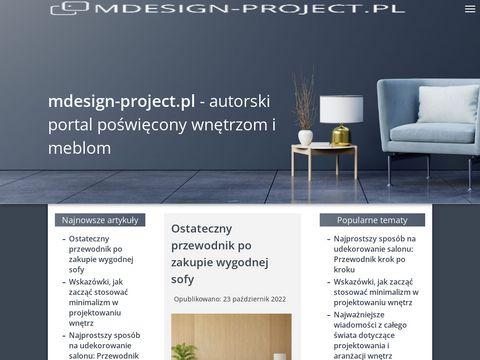 M Design - projektowanie i aranżacja wnętrz