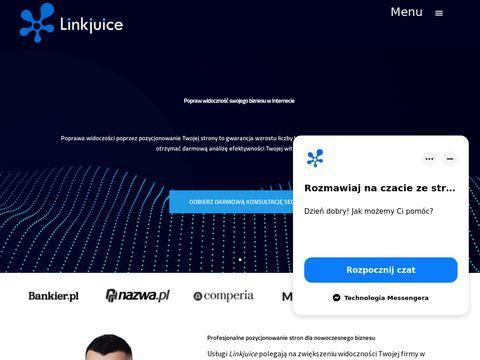 Linkjuice.pl pozycjonowanie stron