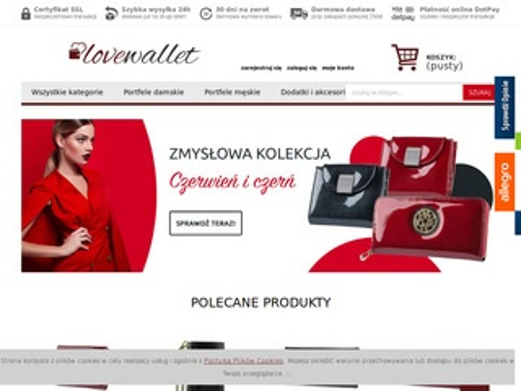 Lovewallet.pl portfel damski