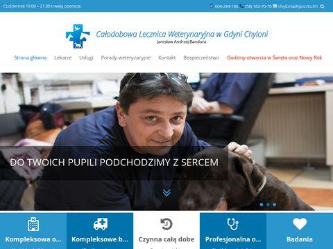 J. A. Bandura sterylizacja zwierząt Gdynia