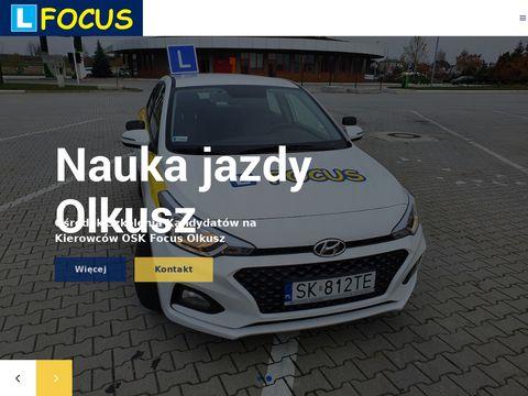 Oskfocus.pl nauka jazdy Wolbrom