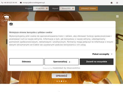 Osrodekgawra.pl mazury na grzyby