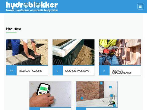 Hydroblokker izolacje pionowe
