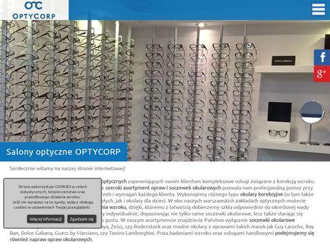 Optycorp soczewki kontaktowe warszawa