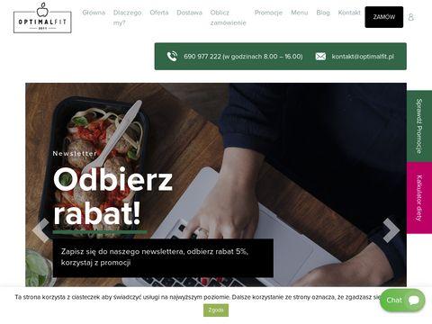Optimal Fit - dieta z dostawą Kraków