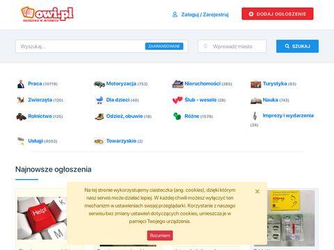 Owi.pl - darmowe ogłoszenia drobne