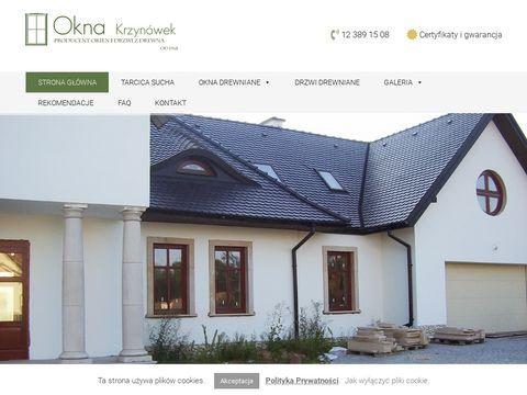 Oknakrzynowek.pl drewniane drzwi Kraków