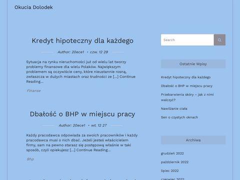 Okuciadolodek.pl Rzodkiewicz Wiesław