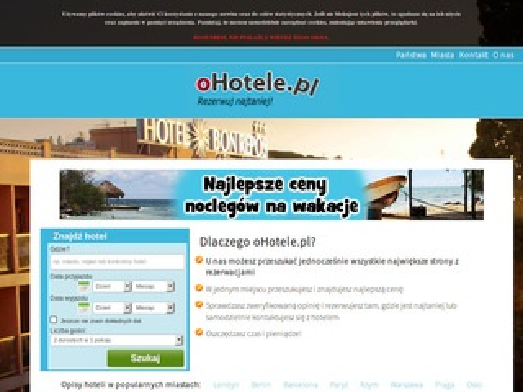 Tanie hotele i noclegi