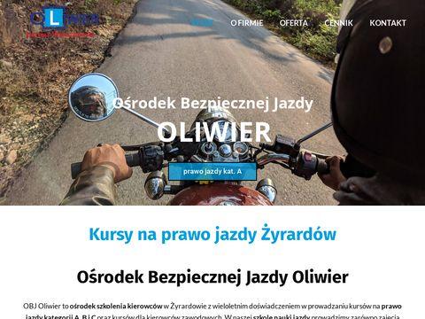 Oliwier-zyrardow.pl szkoła nauki jazdy