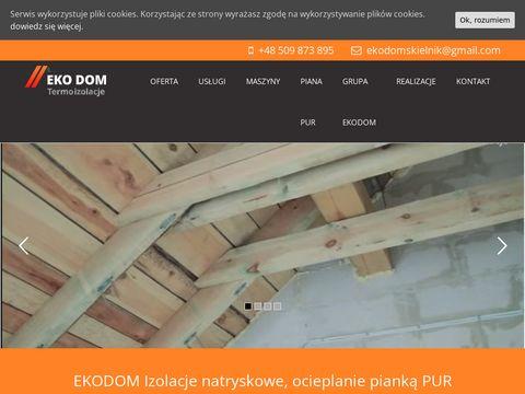 Ocieplenia-ekodom.pl izolacje natryskowe
