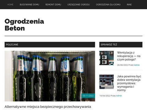 Ogrodzenia, płoty betonowe Poznań, wielkopolska
