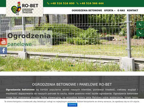 Ogrodzenia-betonowe.waw.pl w Warszawie i okolicach