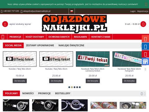 Odjazdowenaklejki.pl stickery na samochody