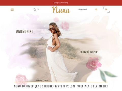 Nunu.pl sukienki rozkloszowane